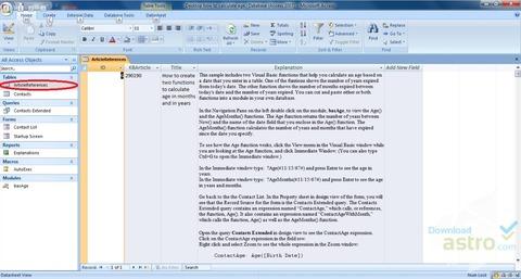 マイクロソフトアクセス - Microsoft Access バージョン 2019-1